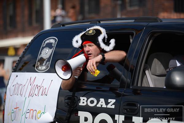 BHS Homecoming Parade 2014