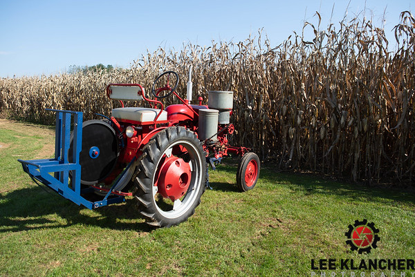 1954 Farmall Cub with McCormick-Deering Planter and Buzz Saw