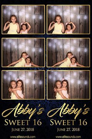 Abby's Sweet 16
