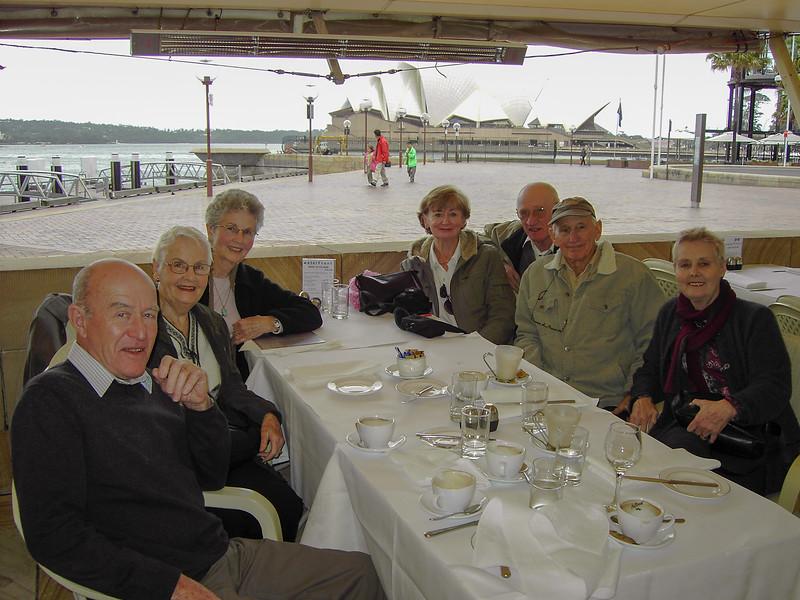 David Newley, Thrya Pryor, Barbara Pryor, Lyn Pryor, Colin Holmes, John Pryor, Enid Holmes, 2006.
