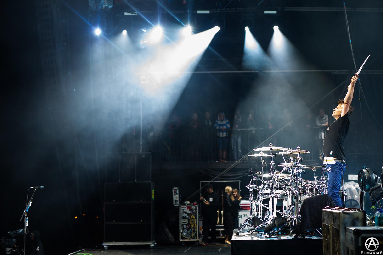 Mark Hoppus of Blink-182 at Leeds Festival