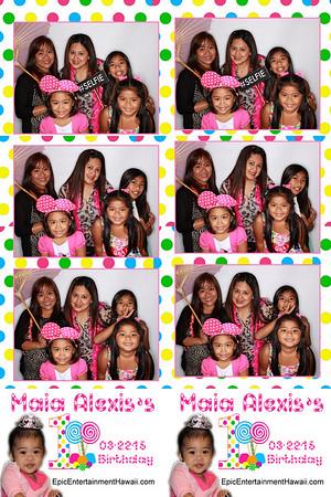 Maia Alexis's 1st Birthday