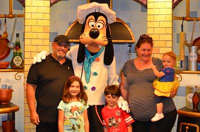 La Jolla and Disneyland