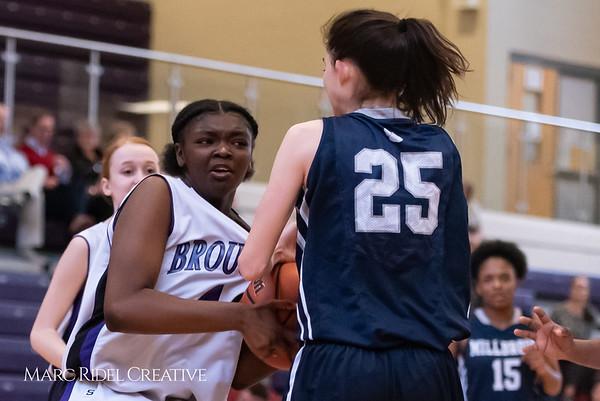 Broughtongirls JV basketball vs Millbrook. February 14, 2019. 750_6900