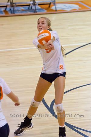 Boone Girls JV Volleyball #9 - 2011