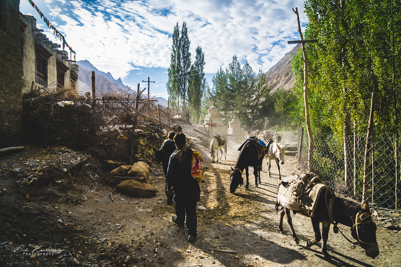 Skyu village