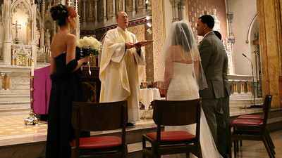 The Wedding of Elizabeth and Michael - Ceremony