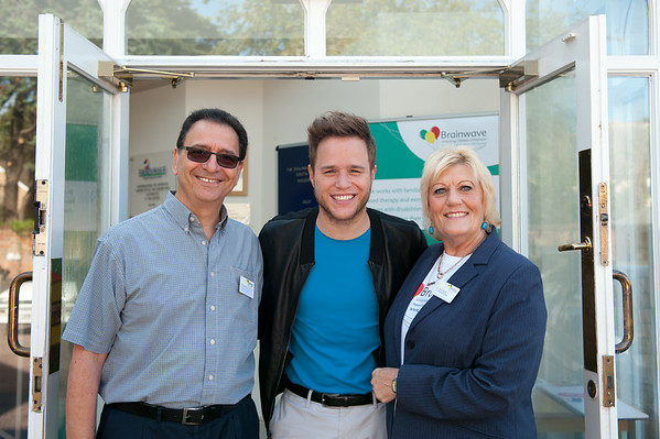 Olly Murs Visit to Brainwave