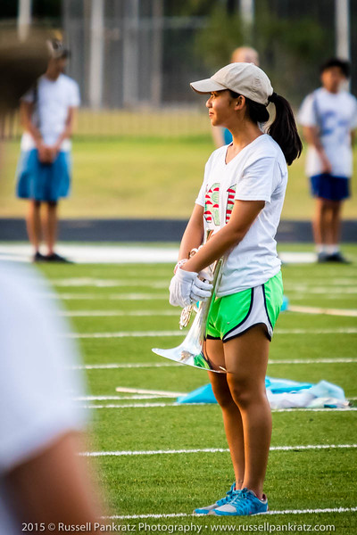 """Lauren Do, featured in my """"Mellophone in the Sun"""" image from earlier on in the Summer Band Camp galleries."""
