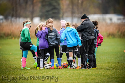 October 29, 2015 - PSC 05 Girls Green - Practice