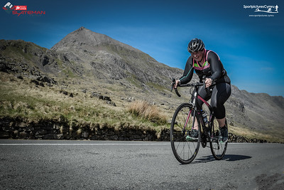 Slateman Sprint - Bike Leg at Pen y Pass