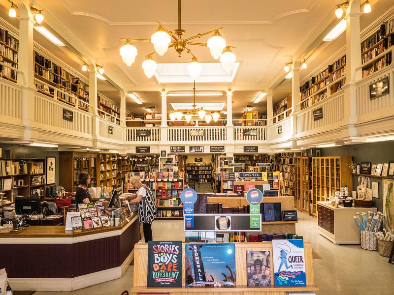 Bookstore, Old Town Eureka