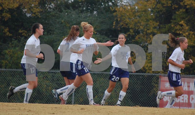 Women's Soccer v. Faulkner Nov. 6, 2008