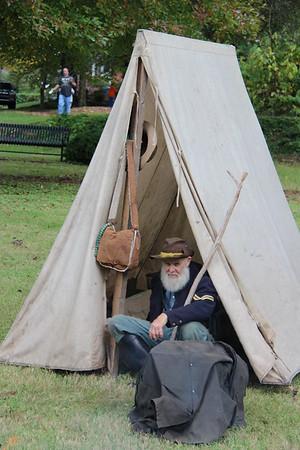 2014,  Civil War Re-enactment