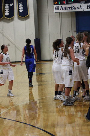 KHS GIRLS VS BRIDGE CREEK 2/22/14