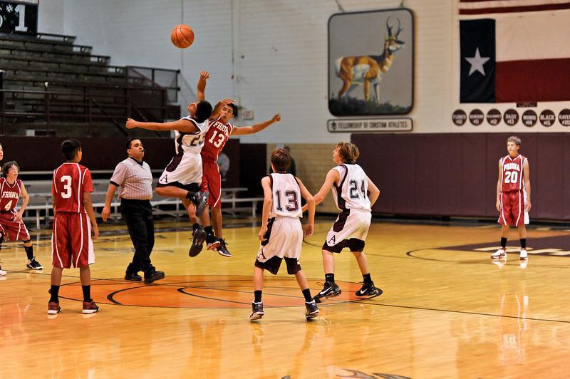 Antelope Basketball 8th vs Friona 11-15-2010