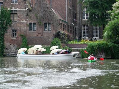 Bootje varen in Gent (juli 2008)