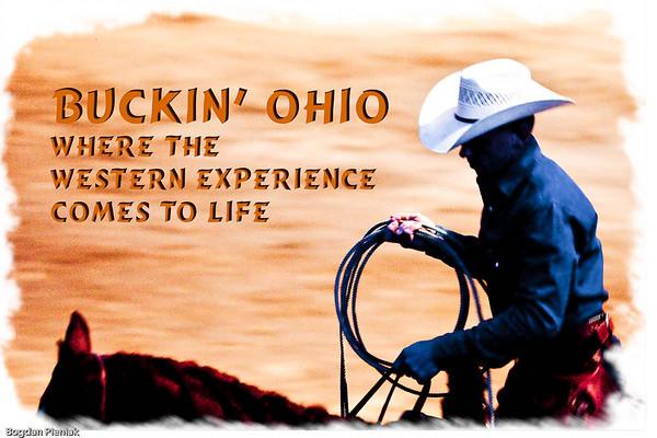 Buckin Ohio Bullriding Barrel Racing Sept 2009