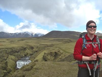 Fimmvörðuháls 17 maí 2012