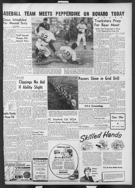 Daily Trojan, Vol. 42, No. 105, April 10, 1951