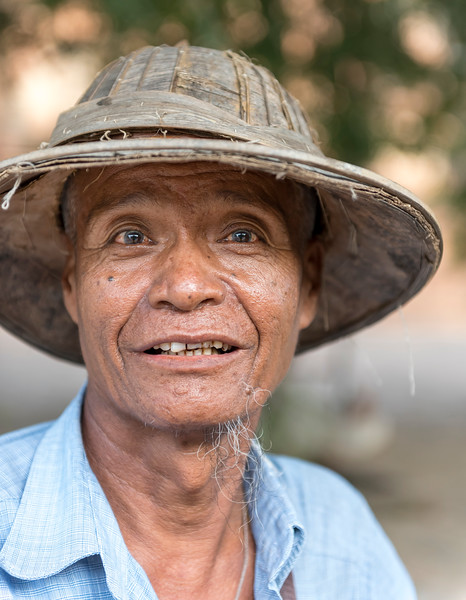 Portrait of Burmese Man