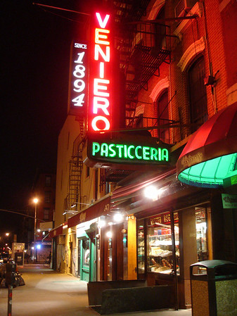 Veniero - Italian Pastries - 11th St and 1st Ave.