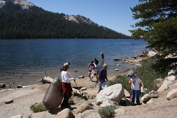 Tenaya Lake Clean-Up