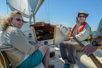 Sailing with Richard and Jane