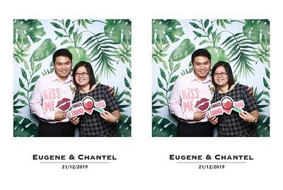 Eugene & Chantel 21 Dec 19 Photobooth Album