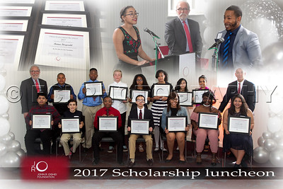 Oishei 2017 Scholarship luncheon