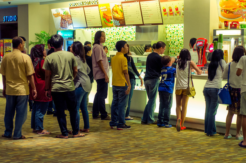 Concession Stand at the Movie Theater