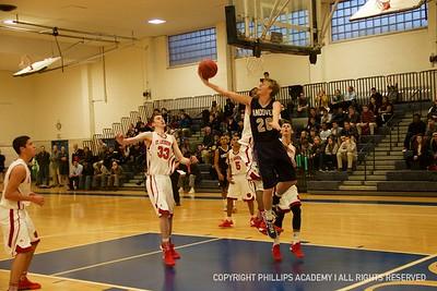 BV Basketball vs. St. Andrew's