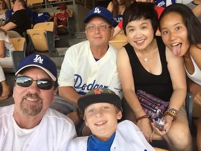 Jackson & Me Dodgers vs Pirates