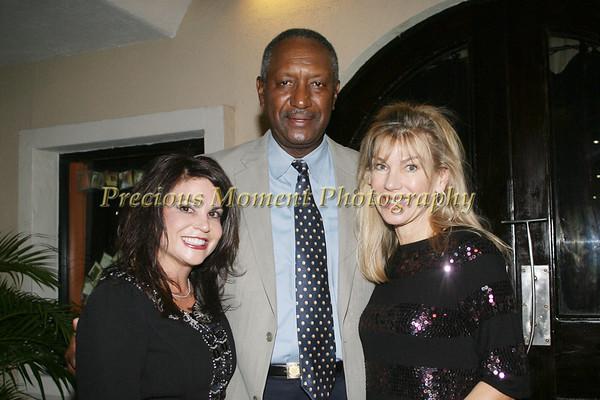 Debora Hartman & Rick Stewart of Smith Barney at Johannas' in Boca Raton - October 2007