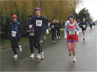 2003 Bazan Bay 5K - Les MacNeill and Marcia Stromsmoe