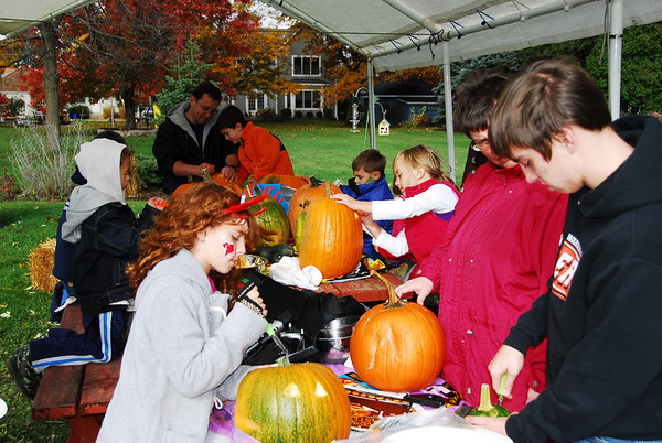 Pumpkin Carving - 2009