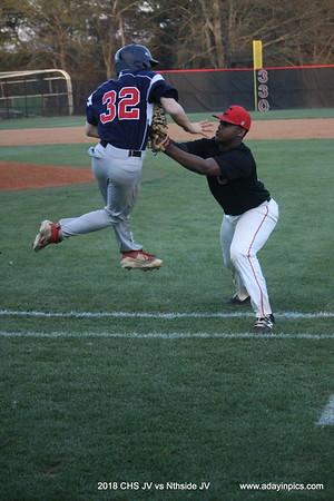 2018 CHS JV vs Nthside JV Baseball