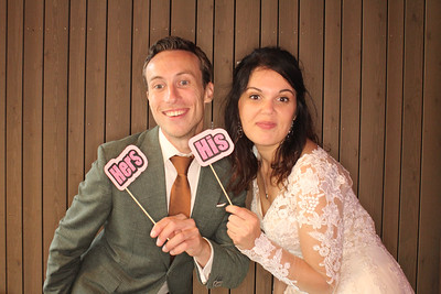 Bruiloft Ferry en Alison
