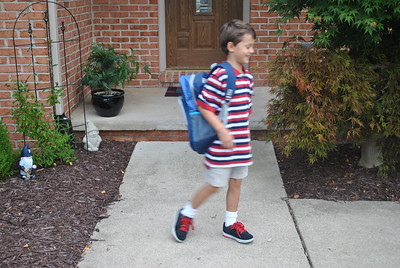 Jack's First Day of School 2012