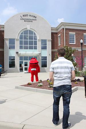 Big Red WKU-O Photoshoot