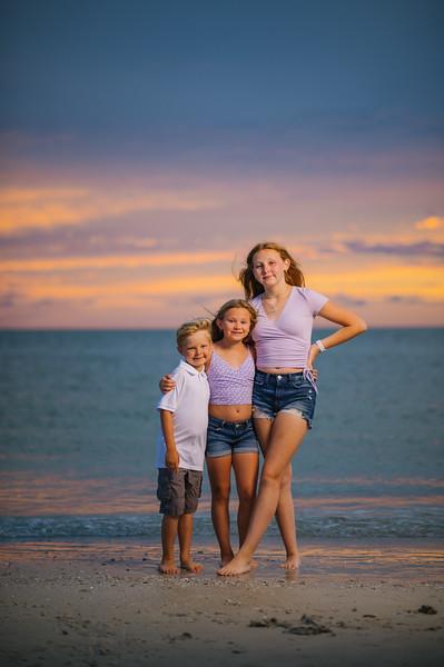 Fort Desoto Family Beach Portraits