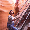 Donna Hull Lower Antelope Canyon Arizona