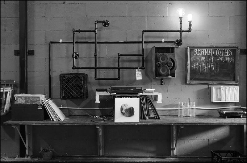 Coffee and vinyl