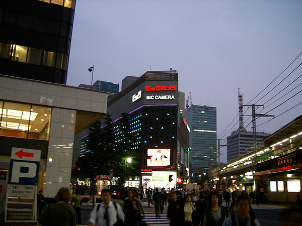 TOKYO Ginza Night 061021