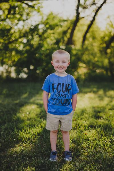 Wyatt 4 Year