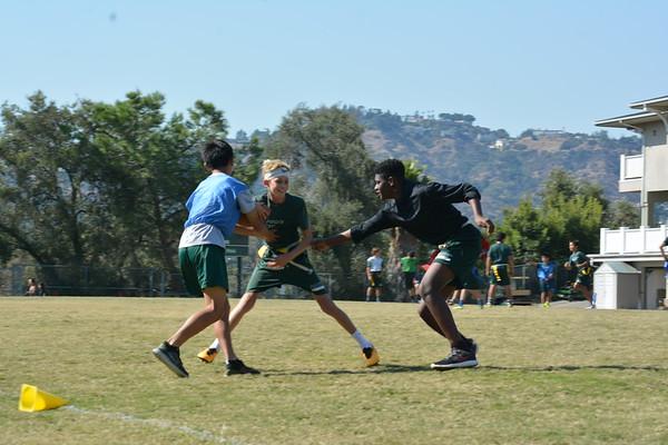 7 & 8 Grade Football Practice