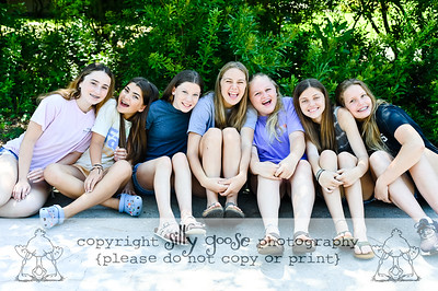 Addy's Graduation Girls