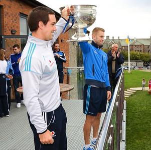 The Dubs visit Na Fianna!