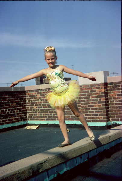 susan on roof in waltz of the flowers ballet costume.jpg