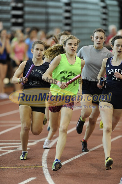 Girl's 4x800 Relay - 2012 MITS Finals